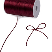 2mm Rat-tail (Chinese Knot) - 200 Yards (Wine)