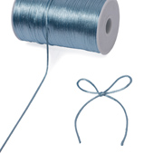 2mm Rat-tail (Chinese Knot) - 200 Yards (Blue Mist)