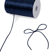 2mm Rat-tail (Chinese Knot) - 200 Yards (Navy Blue)