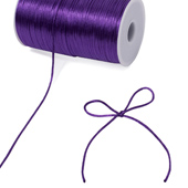 2mm Rat-tail (Chinese Knot) - 200 Yards (Purple)