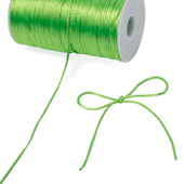 2mm Rat-tail (Chinese Knot) - 200 Yards (Apple Green)