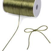 2mm Rat-tail (Chinese Knot) - 200 Yards (Moss Green)