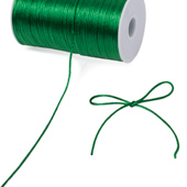 2mm Rat-tail (Chinese Knot) - 200 Yards (Emerald Green)