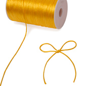 2mm Rat-tail (Chinese Knot) - 200 Yards (Light Gold)
