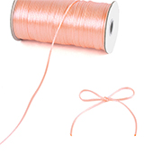 2mm Rat-tail (Chinese Knot) - 200 Yards (Light Peach)