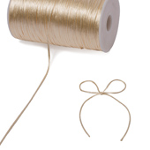2mm Rat-tail (Chinese Knot) - 200 Yards (Ivory)