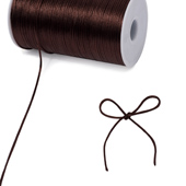 2mm Rat-tail (Chinese Knot) - 200 Yards (Brown)