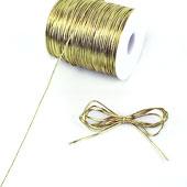 1.5mm Metallic Gift Tag (Non-Elastic) - 144 Yards (Gold)
