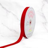 "5/8"" Grosgrain Ribbon - 50 Yards (Red)"