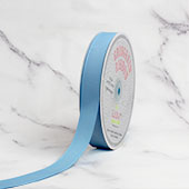 "7/8"" Grosgrain Ribbon - 50 Yards (Light Blue)"