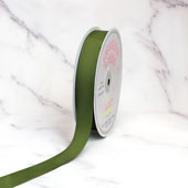 "7/8"" Grosgrain Ribbon - 50 Yards (Moss Green)"
