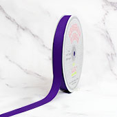 "5/8"" Grosgrain Ribbon - 50 Yards (Purple)"