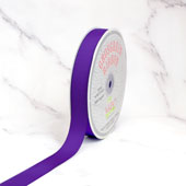 "7/8"" Grosgrain Ribbon - 50 Yards (Purple)"