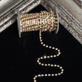 3mm Rhineston Chain (Separated) - 5 Yards (Gold)