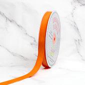 "5/8"" Grosgrain Ribbon - 50 Yards (Neon Orange)"
