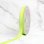 "5/8"" Grosgrain Ribbon - 50 Yards (Neon Yellow)"