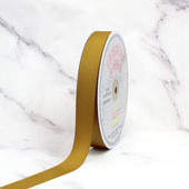 "7/8"" Grosgrain Ribbon - 50 Yards (Antique Gold)"