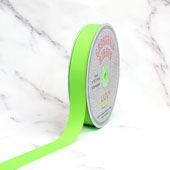 "7/8"" Grosgrain Ribbon - 50 Yards (Neon Green)"