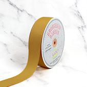 "1 1/2"" Grosgrain Ribbon - 50 Yards (Antique Gold)"