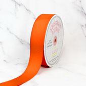 "1 1/2"" Grosgrain Ribbon - 50 Yards (Neon Orange)"
