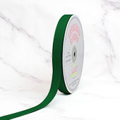 "5/8"" Grosgrain Ribbon - 50 Yards (Emerald Green)"