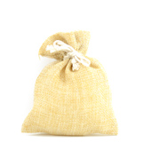 "4""x5"" Faux Burlap Pouches - Sold by a Dozen Pieces ( 6 Pieces/Inner Pack) (Natural)"
