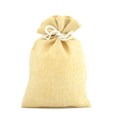 "6""x9"" Faux Burlap Pouches - Sold by a Dozen Pieces ( 6 Pieces/Inner Pack) (Natural)"