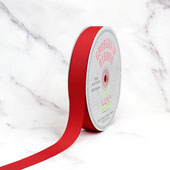 "7/8"" Grosgrain Ribbon - 50 Yards (Coral)"