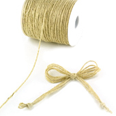 4 Ply Jute Cord - 10 Yards (Ivory)