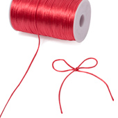 2mm Rat-tail (Chinese Knot) - 200 Yards (Coral)