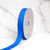 "7/8"" Grosgrain Ribbon - 50 Yards (Electric Blue)"