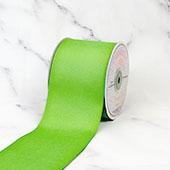 "3"" Grosgrain Ribbon - 25 Yards (Apple Green)"