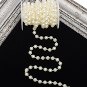 10mm PEARLS STRING-5 YDS (Ivory)