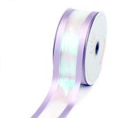 "1 1/2"" IRIDESCENT SHIMMERING RIBBON-5 YDS (Lavender)"