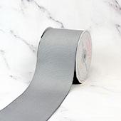 "3"" Grosgrain Ribbon - 25 Yards (Silver)"