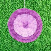 """20"""" TISSUE STARBURST FLOWERS-PC (Purple)"""