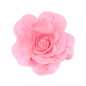 """20"""" DECORATIVE WALL FLOWER-PC (Pink)"""