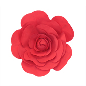 """20"""" DECORATIVE WALL FLOWER-PC (Red)"""