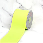 "3"" Grosgrain Ribbon - 25 Yards (Neon Yellow)"