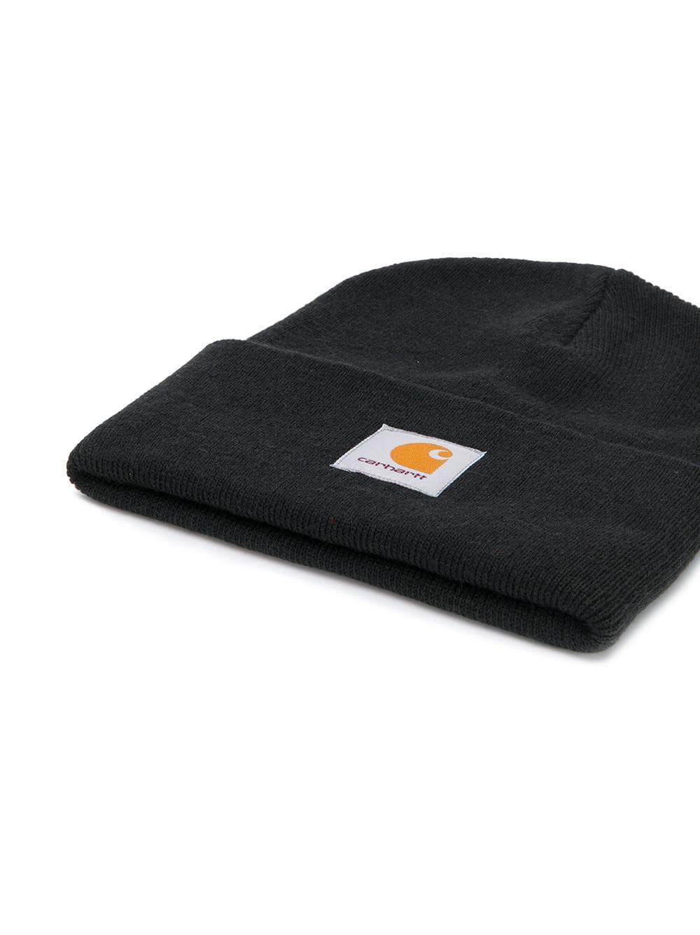 Carhartt Wip logo hat man black CARHARTT WIP | Hats | I02022289.00