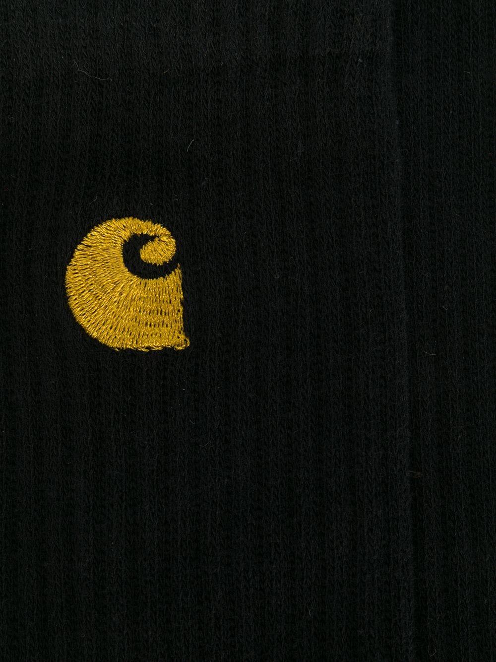 Carhartt Wip calzini con logo uomo nero CARHARTT WIP | Calzini | I02652789.90