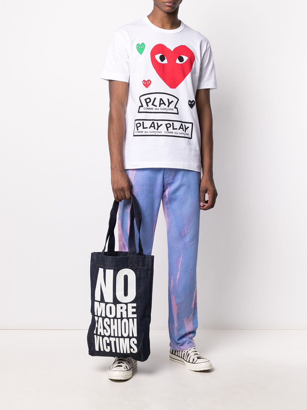Comme Des Garçons Play t-shirt man COMME DES GARÇONS PLAY | T-shirts | P1T2801