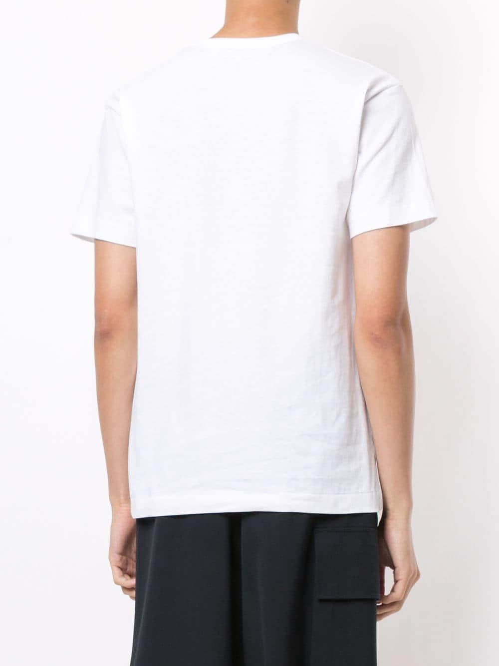 Comme Des Garçons Play t-shirt play uomo COMME DES GARÇONS PLAY   T-shirt   P1T2821