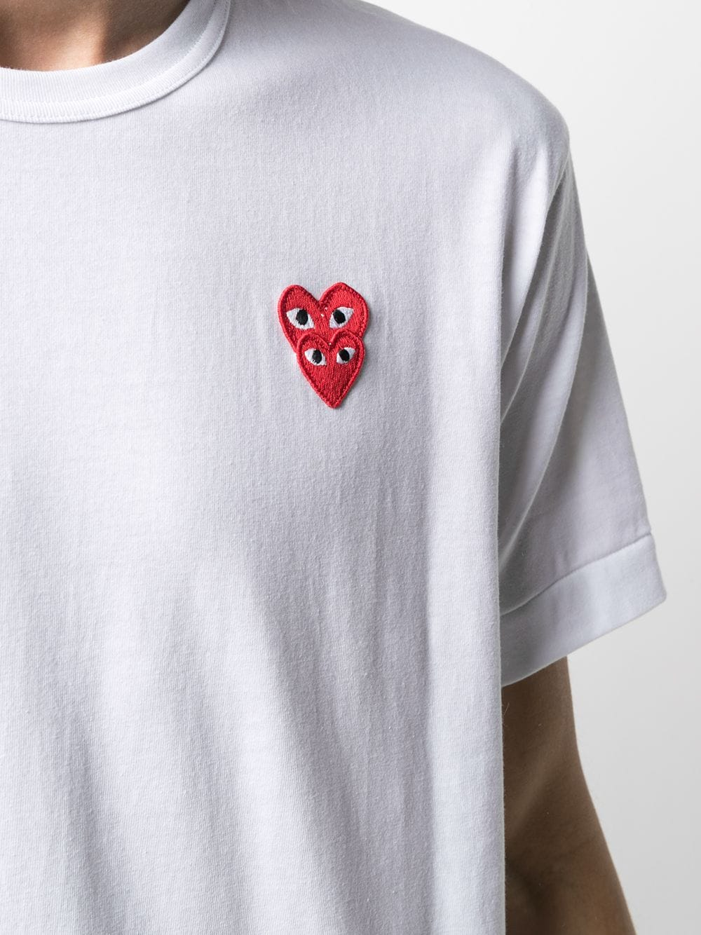 Comme Des Garçons Play t-shirt man COMME DES GARÇONS PLAY | T-shirts | P1T2882
