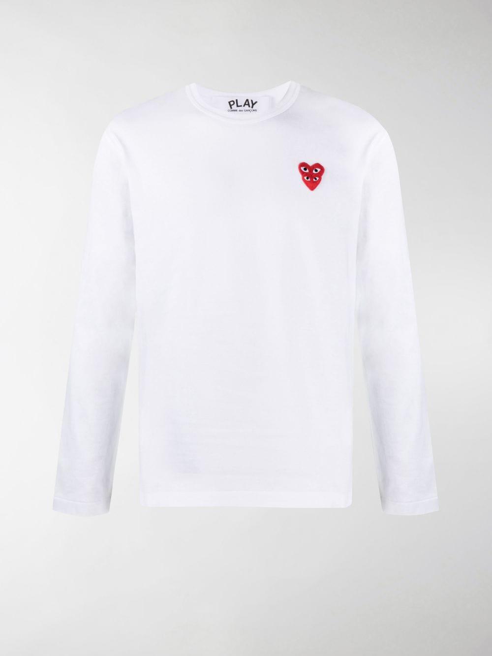 Comme Des Garçons Play t-shirt play uomo COMME DES GARÇONS PLAY | T-shirt | P1T2922