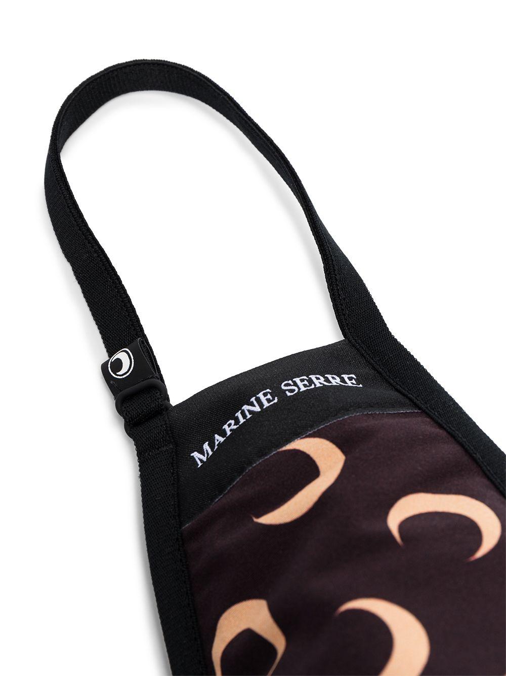 mascherina con logo unisex marrone MARINE SERRE | Mascherine | A059ICONX8