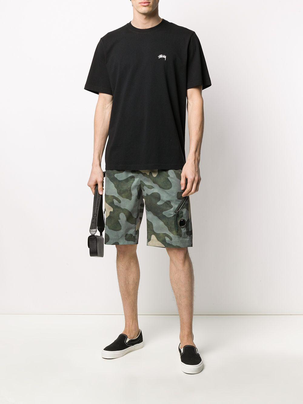 T-SHIRT CON LOGO STUSSY | T-shirt | 1140194BLACK