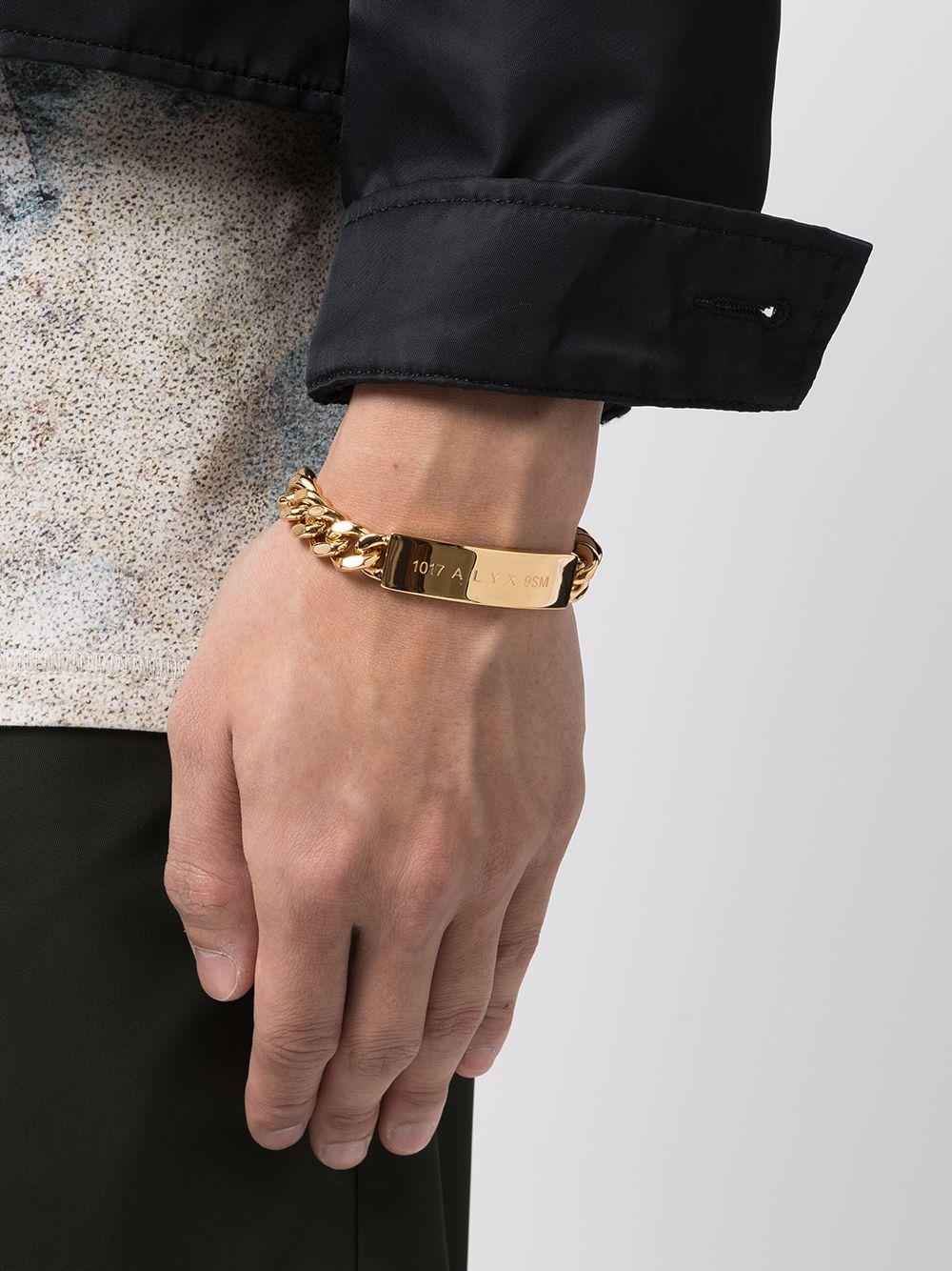 logo bracelet man gold 1017 ALYX 9SM | Jewellery | AAUJW0119OT01GLD0003