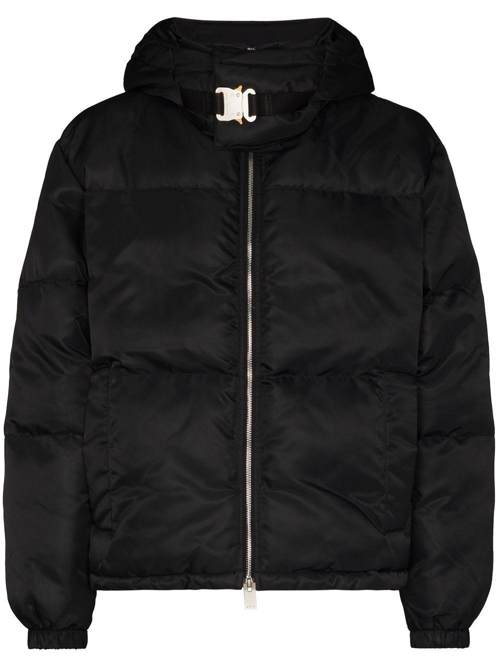 giacca con cappuccio uomo nero 1017 ALYX 9SM   Giacche   AAUOU0238FA01BLK0001