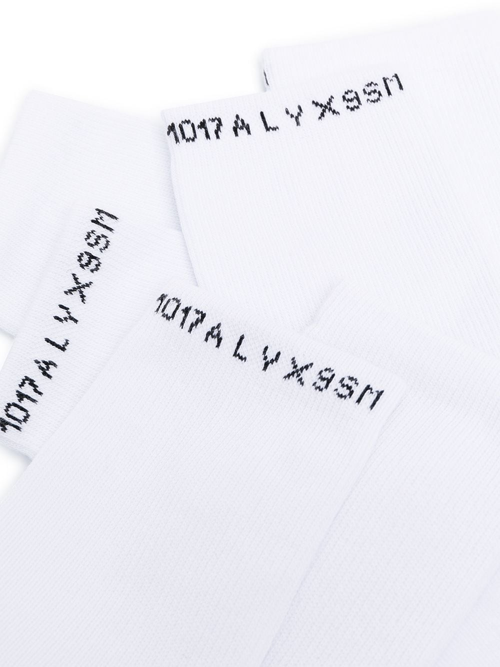 Tripack socks White in Cotton Man 1017 ALYX 9SM   Socks   AAUSS0023FA01WHT0001